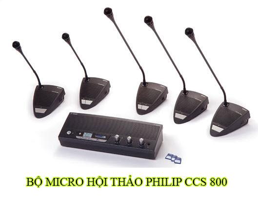Bộ micro hội thảo Philip ccs 800