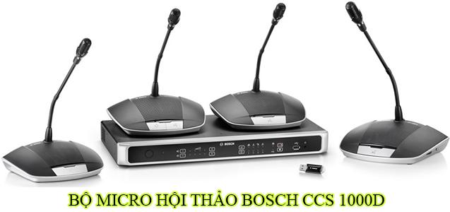 Bộ micro hội thảo Bosch CCS 1000D
