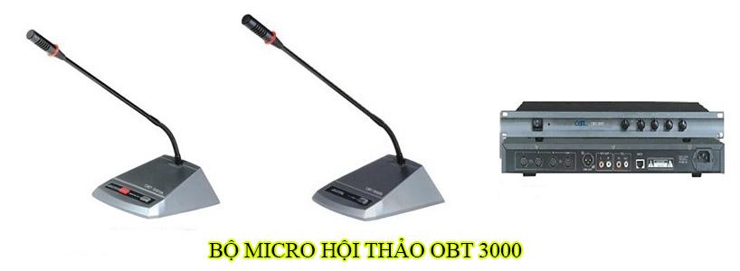 Bộ micro hội thảo OBT 3000
