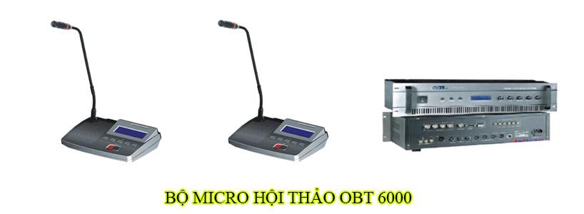 Bộ micro hội thảo OBT 6000