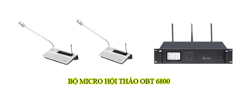 Bộ micro hội thảo OBT 6800