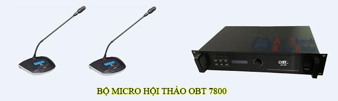 Bộ micro hội thảo OBT 7800