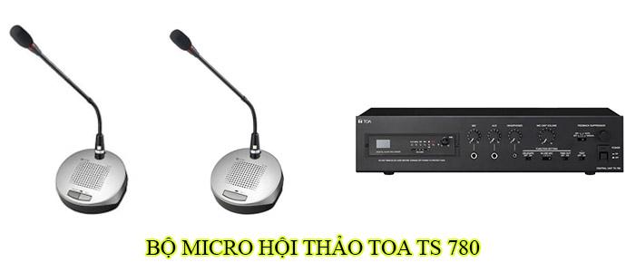 Bộ micro hội thảo Toa TS 780