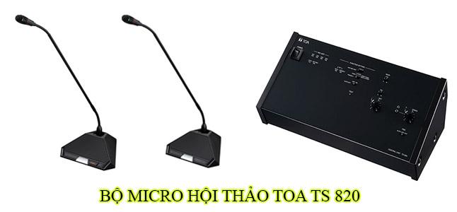 Bộ micro hội thảo Toa TS 820