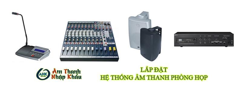 Lắp đặt hệ thống âm thanh phòng họp