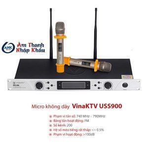 micro không dây vina ktv uss900