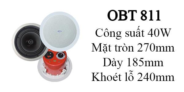 Loa âm trần OBT 811