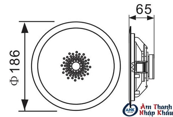 loa âm trần APlus-A-502