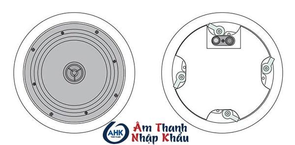 Loa âm trần APlus A-806V