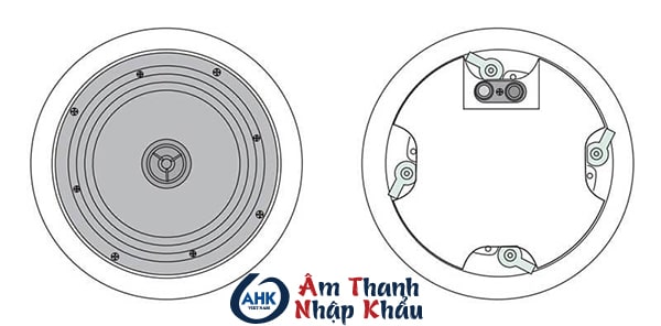 Loa âm trần Aplus A-808V