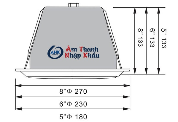 Loa âm trần APlus A-B05c