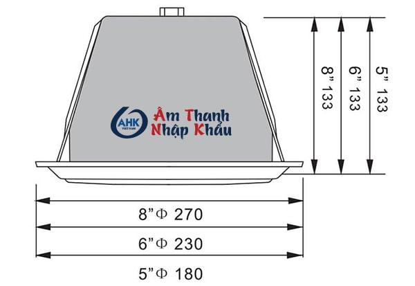 Loa âm trần Aplus A-F18