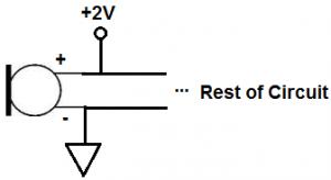 Điện áp phân cực micro