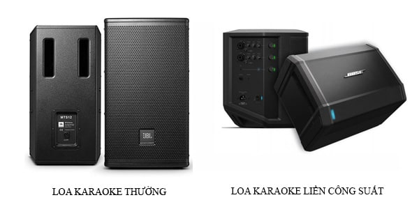 Loa karaoke liền công suất